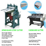 Carboard slitting machine