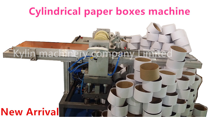 paper round boxes machine